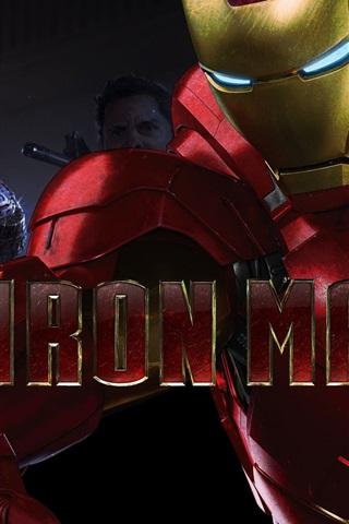 iPhone Wallpaper 2013 movie Iron Man 3