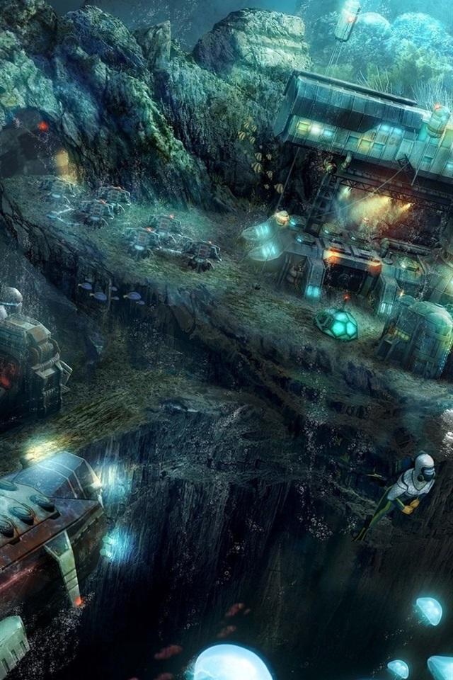 Anno 2070 Deep Ocean 640x960 Iphone 4 4s Wallpaper