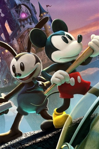 iPhone Papéis de Parede Epic Mickey 2: The Power of Two
