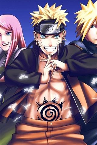 iPhone Wallpaper Japanese anime, Naruto