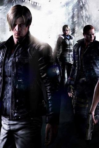 iPhone Papéis de Parede Resident Evil 6 HD