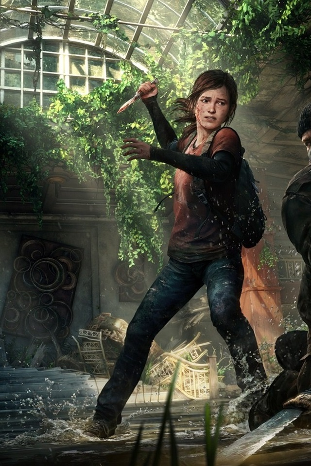 The Last Of Us Pc Game 640x960 Iphone 44s Wallpaper