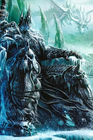 iPhone Wallpaper World of Warcraft: Wrath of the Lich King