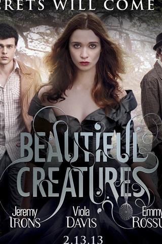 iPhone Hintergrundbilder Beautiful Creatures 2013 Film