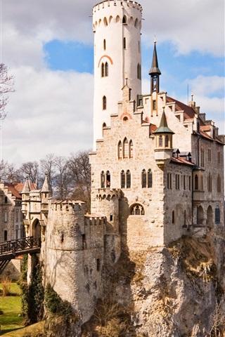 iPhone Wallpaper German medieval castle