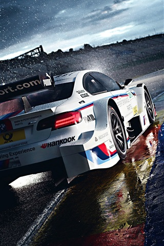 Raining Morning Bmw M3 In Race 750x1334 Iphone 8 7 6 6s Wallpaper Background Picture Image