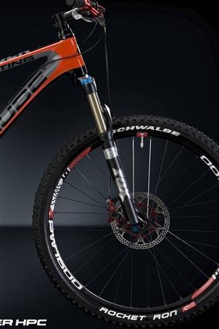 iPhone Wallpaper Speed bike, black background, STING Super HPC