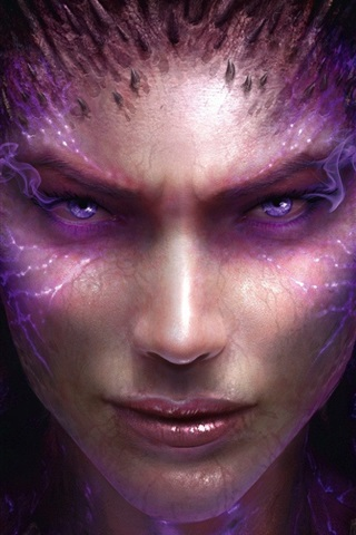 iPhone Papéis de Parede StarCraft II: Heart of the Swarm