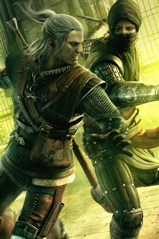 iPhone Wallpaper The Witcher 2: Assassins of Kings HD