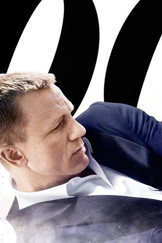 iPhone Papéis de Parede 2012 filme, 007 Skyfall