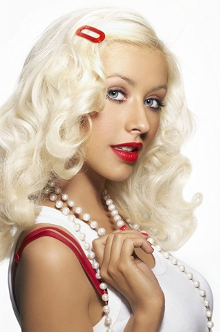 iPhone Wallpaper Christina Aguilera 04