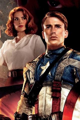 iPhone Wallpaper Captain America HD