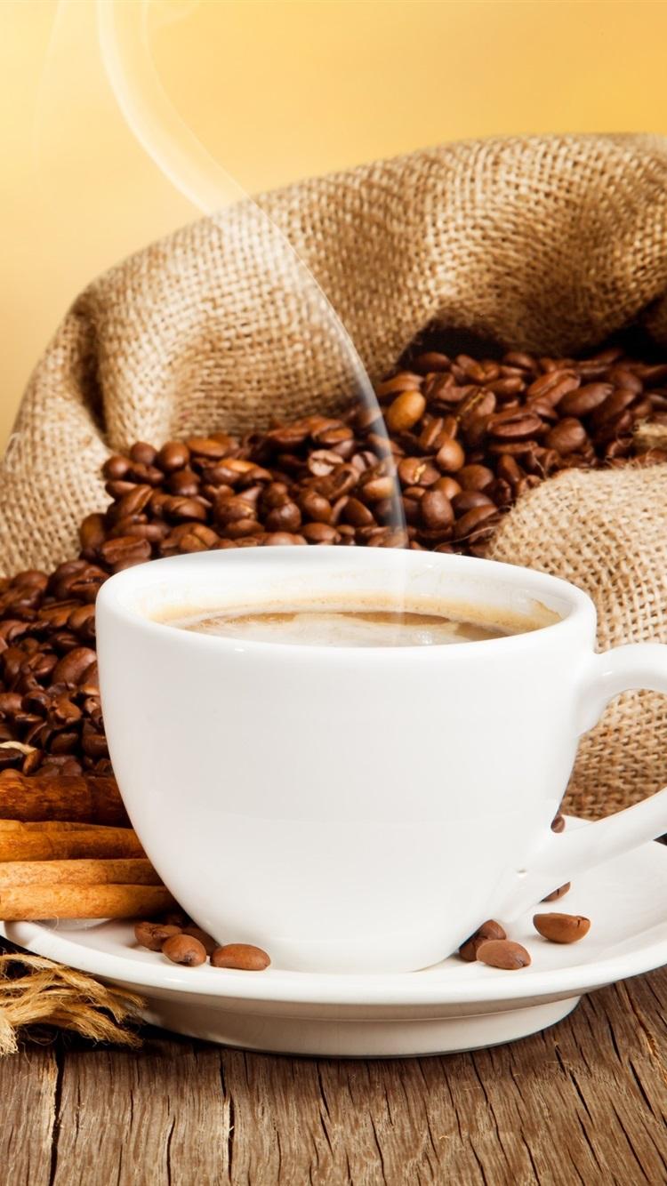 Tasse Kaffee, Getränke, Kaffee Bohnen, Zimt, Untertasse 2560x1600 HD ...