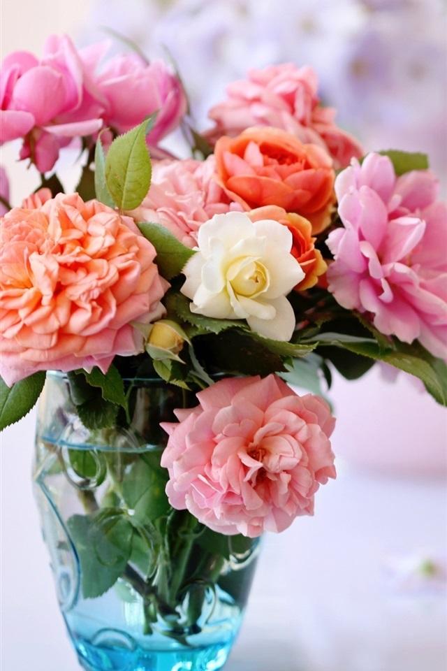 собчак обои на телефон розы в вазе удивительно