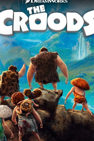 iPhone Wallpaper The Croods 2013 HD