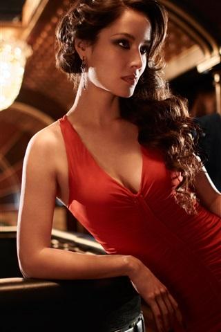 iPhone Papéis de Parede Berenice Marlohe, 007 filme Skyfall