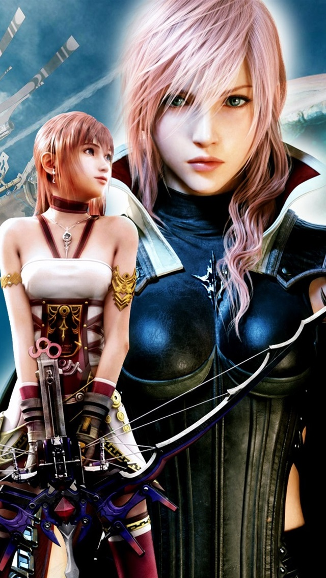 Lightning Returns Final Fantasy Xiii 640x1136 Iphone 55s
