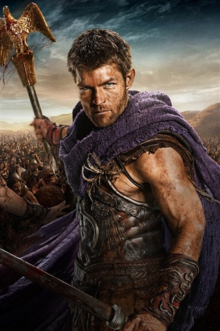iPhone Wallpaper Spartacus: War of the Damned HD