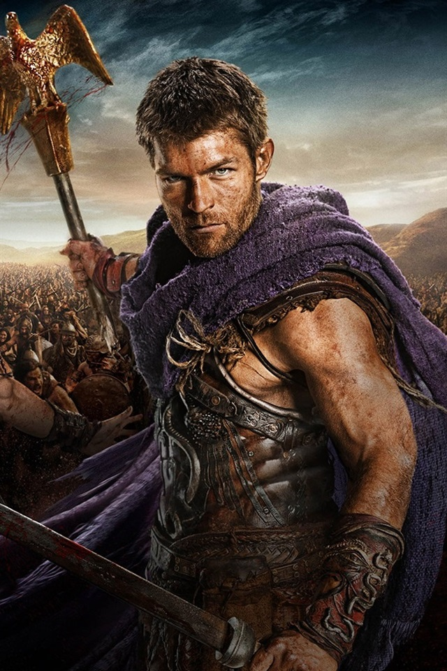 Spartacus: War of the Damned HD 640x960 iPhone 4/4S wallpaper