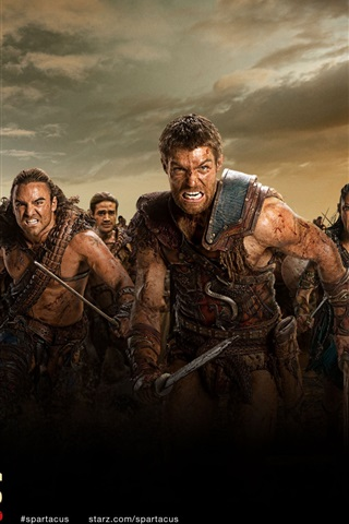 iPhone Wallpaper Spartacus: War of the Damned