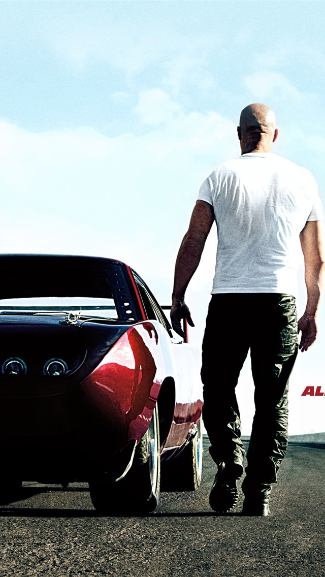 Vin Diesel In Fast And Furious 6 750x1334 Iphone 8 7 6 6s