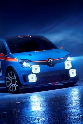 iPhone Papéis de Parede 2013 Renault carro conceito TwinRun