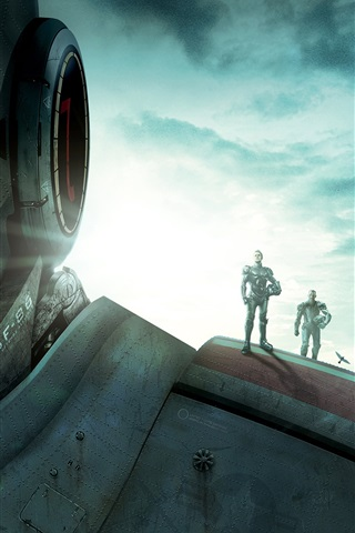 iPhone Wallpaper 2013 movie, Pacific Rim