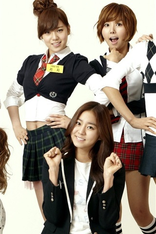 iPhone Wallpaper After School, South Korea, asian music girls 02