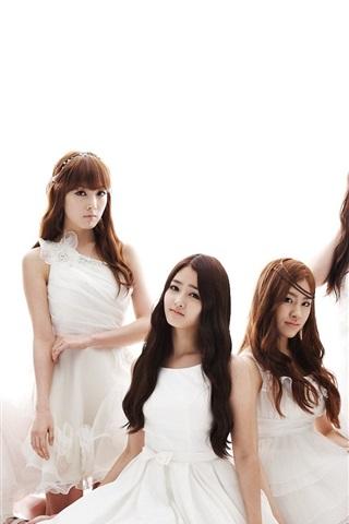 iPhone Papéis de Parede CHI CHI-coreano grupo feminino de música 02