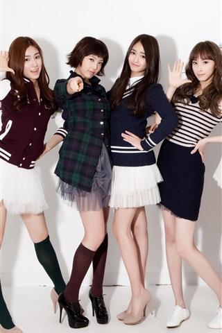 iPhone Papéis de Parede CHI CHI-coreano grupo feminino de música 06