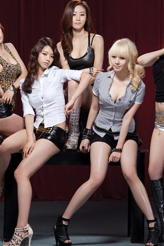 iPhone Wallpaper Girl's Day, Korea music girls 01