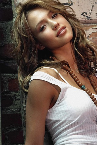 iPhone Wallpaper Jessica Alba 13