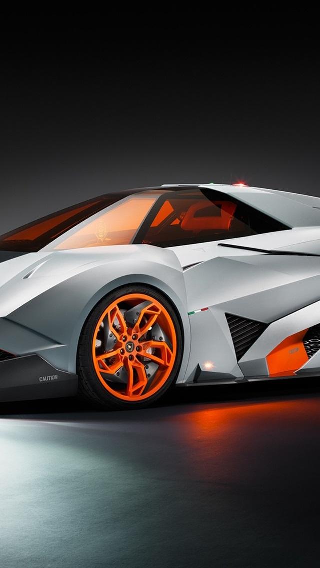 Fonds D 233 Cran Lamborghini Egoista Voiture De Luxe