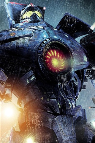 Pacific Rim Robot Warrior 640x1136 Iphone 55s5cse