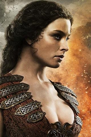 iPhone Wallpaper Rachel Nichols in Conan the Barbarian