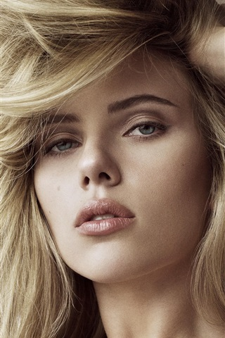 iPhone Wallpaper Scarlett Johansson 12