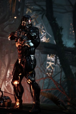 iPhone Wallpaper The 7 Wonders of Crysis 3, Episode The Typhoon HD