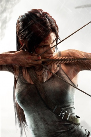 iPhone Wallpaper Tomb Raider, Ready to fly