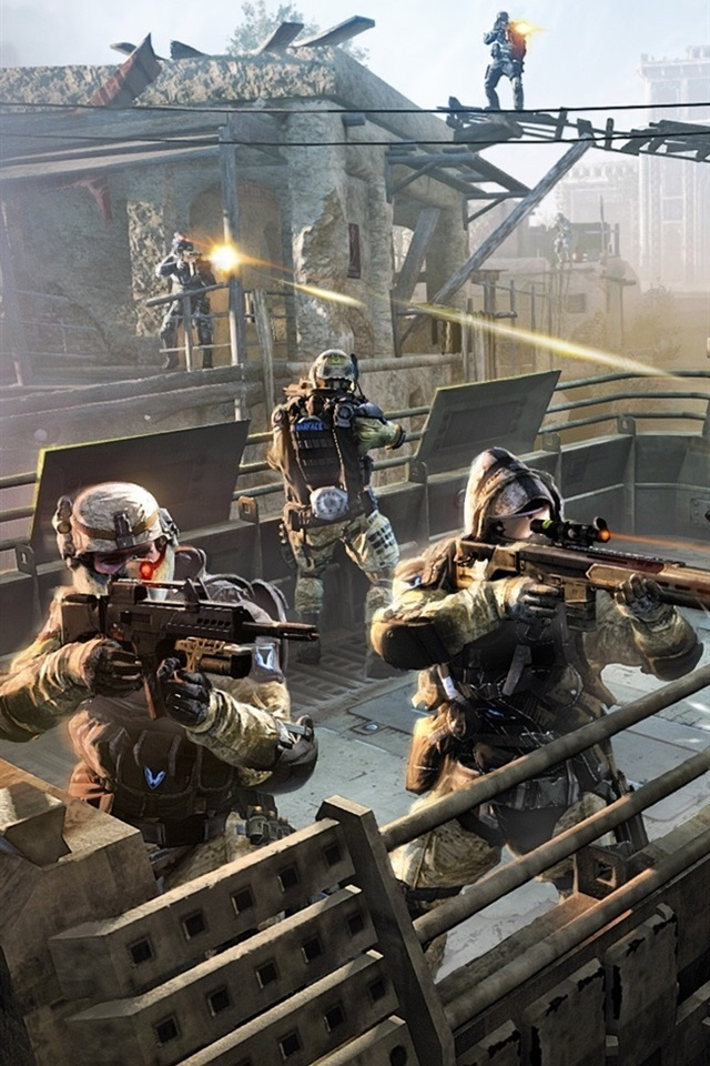 Warface 640x960 iPhone 4/4S wallpaper, background, picture