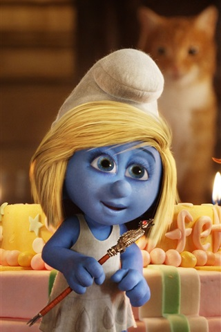 iPhone Wallpaper 2013 The Smurfs 2