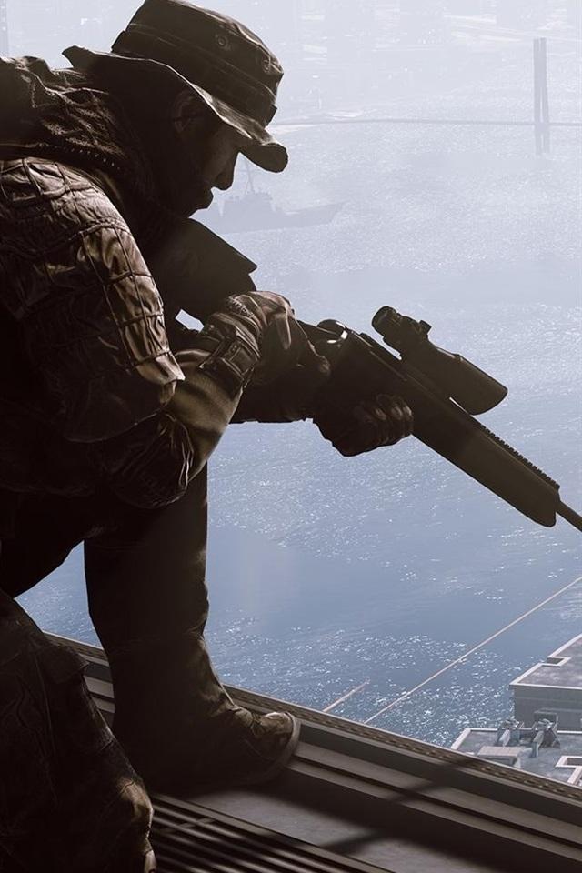 pap233is de parede battlefield 4 sniper 1920x1080 full hd