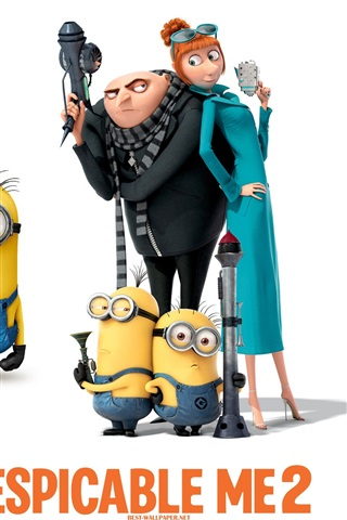 iPhone Hintergrundbilder Despicable Me 2