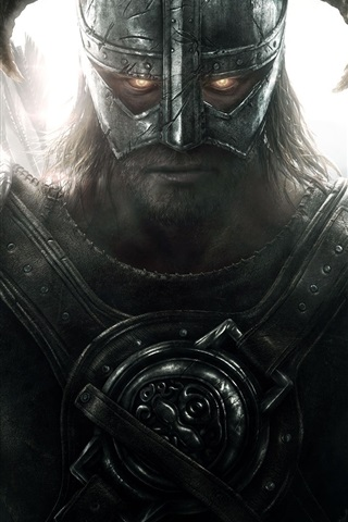 iPhone Wallpaper Skyrim: Dawnguard