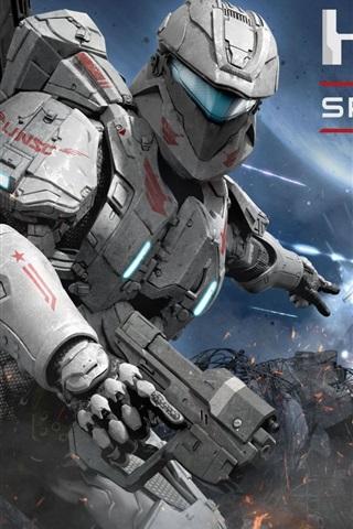 iPhone Wallpaper Halo: Spartan Assault