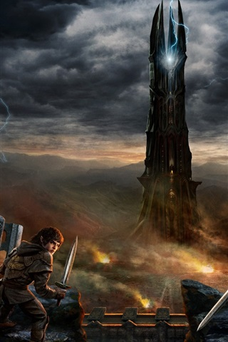 iPhone Wallpaper Lord of the Rings Online: Rise of Isengard
