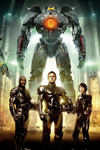 iPhone Wallpaper Pacific Rim, movie HD