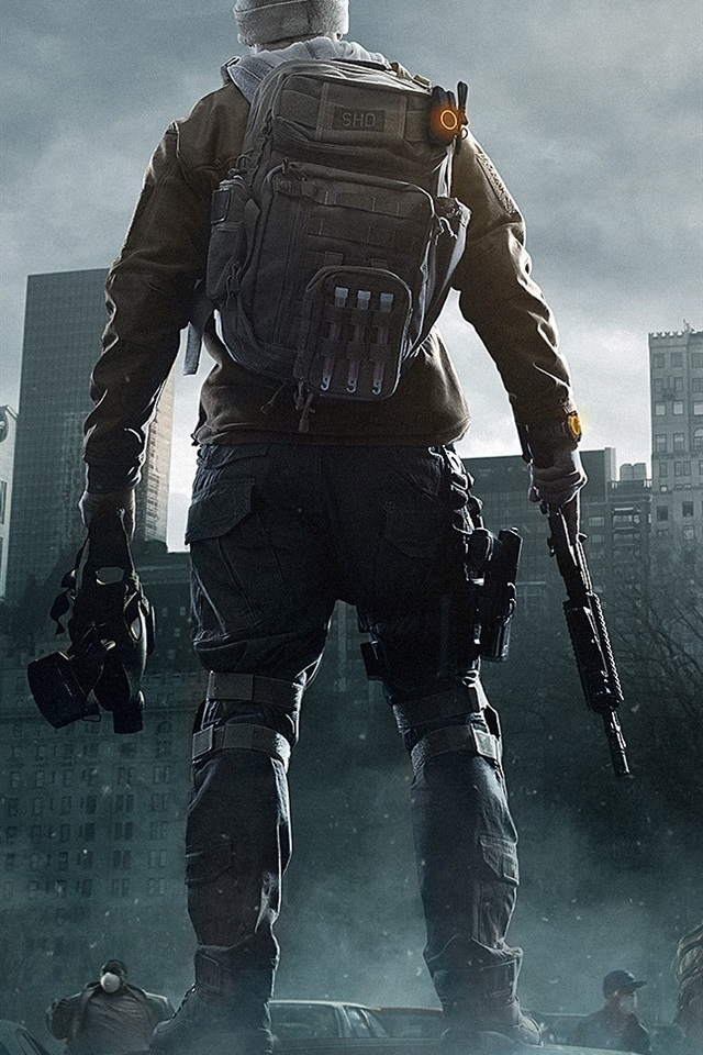 Tom Clancys The Division 640x960 Iphone 44s Wallpaper