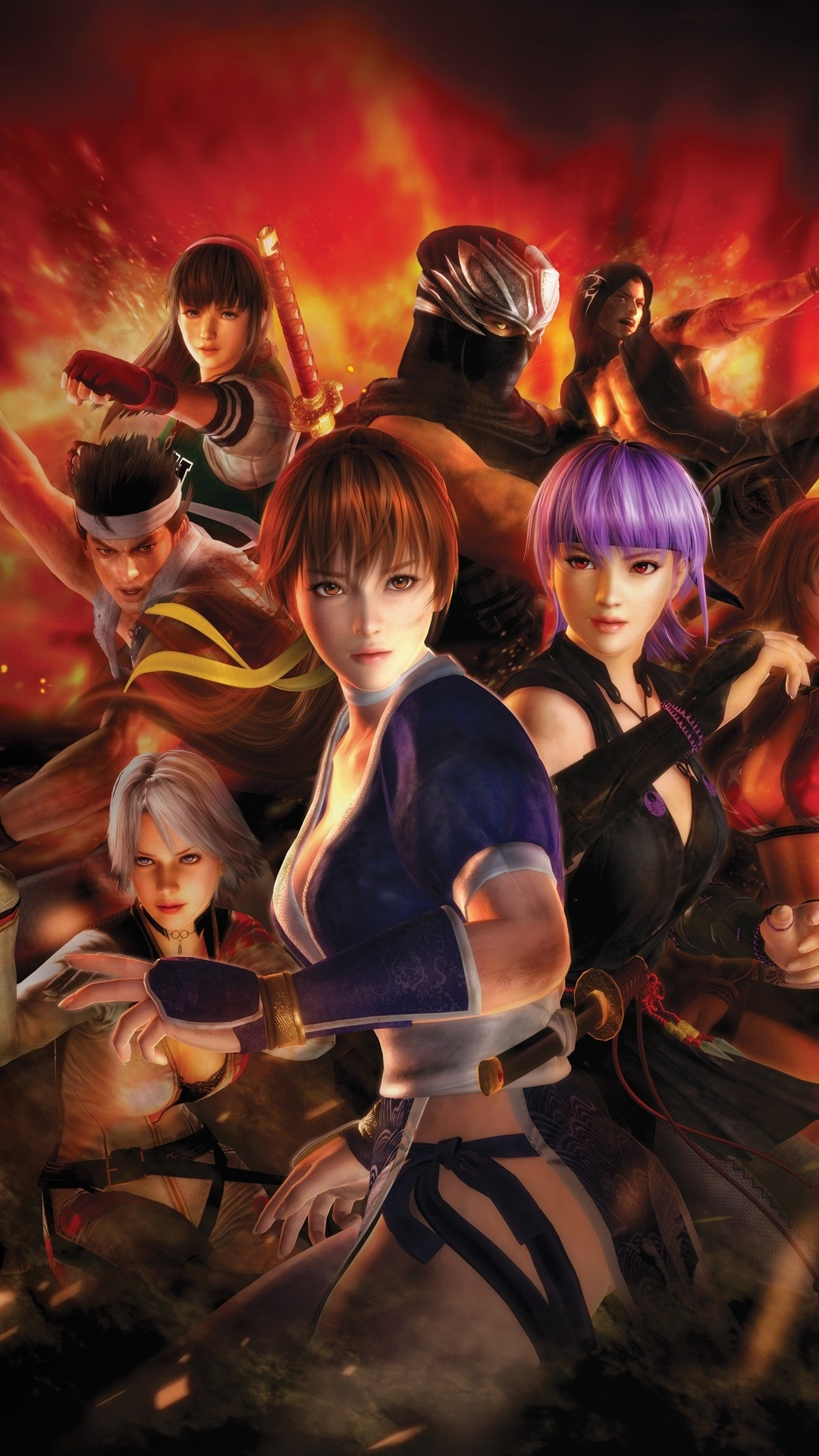 Dead Or Alive 5 Doa 5 Pc Game 1080x1920 Iphone 8 7 6 6s Plus