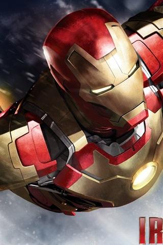 iPhone Обои Iron Man 3, фильм 2013 HD
