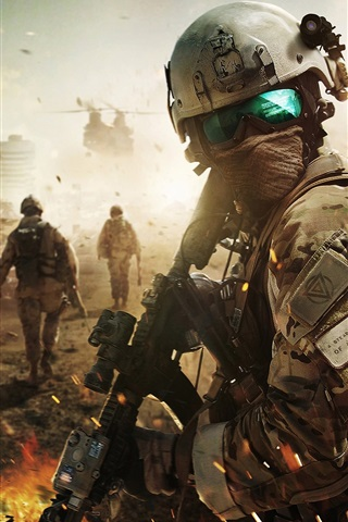 iPhone Wallpaper Ghost Recon: Future Soldier, Tom Clancy's software